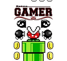 GAMER - Retro (iPhone) by Adam Angold