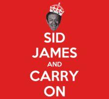 Sid James by macaulay830