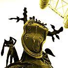 Dali melting watch, London Eye by Mikhail31