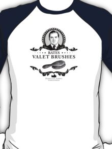 Bates Valet Brushes - Downton Abbey Industries T-Shirt