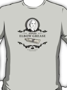 Annas Elbow Grease  - Downton Abbey Industries T-Shirt