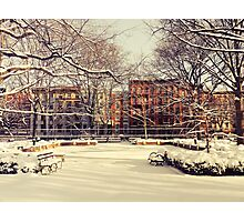 Winter - East Village - New York City Photographic Print