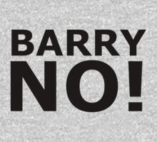 BARRY NO! by wallfl0wer