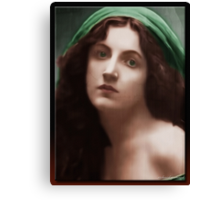 The Virgin (in Oil) Canvas Print