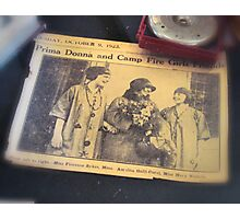 Vintage Ladies from the year 1923 Photographic Print