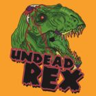 Undead Rex - Tyrannozombus  by digihill