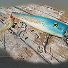 Cap&#x27;n Bill Swimmer Vintage Saltwater Fishing Lure by MotherNature