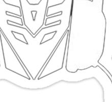 Dj Decepticon Sticker
