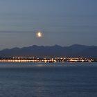 Anchorage Alaska City Lights by Anthony Guzman