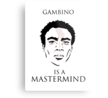 Gambino is a Mastermind  Metal Print