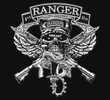 1st Ranger Battalion (T-shirt) by Walter Colvin