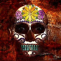 Day of the dead 001 by Karl David Hill