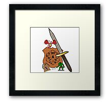 Table top gaming Framed Print