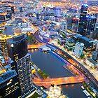 Melbourne by Kirk  Hille