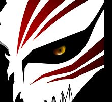 Bleach - Ichigo Hollow Mask (with teeth) by spyderjava