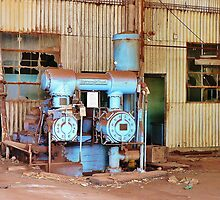Old Sugar Factory Equipment by Martha Sherman