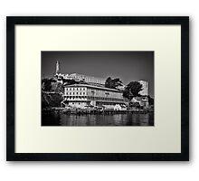 Alcatraz island and Federal Penitentiary Framed Print