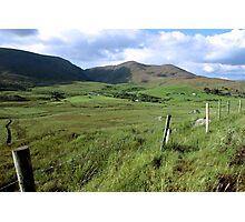 green fields of ireland Photographic Print