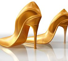 Golden slippers by Paul Fleet