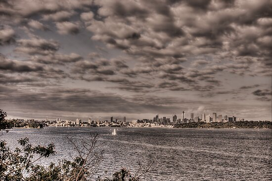 Sydney from Camp Cove by Chris Brunton