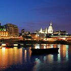 London, UK, Thames River by fine-art-prints