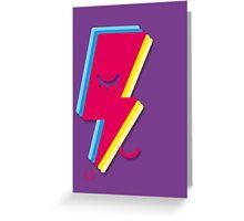 Ziggy minimal Greeting Card