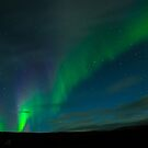 Westfjords Aurora by Mel Sinclair