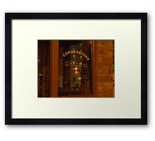 The Light Through the Window Framed Print