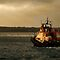 RNLI lifeboat, Evening trip by David Wheeldon