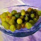 Grapes on the Half Shell by RC deWinter