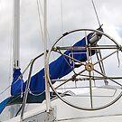 Ships wheel by Declan Carr