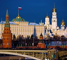 Moscow, Russia Capital, Nice Look of Moscow by fine-art-prints