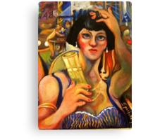 THE PERNOD DRINKER Canvas Print