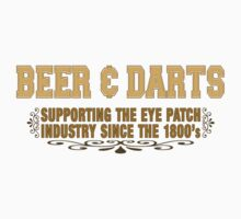 Beer and Darts by pixelman