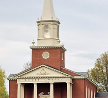 Chapel at Bucknell University by Penny Rinker