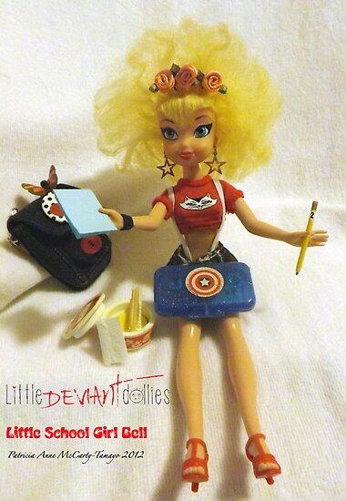 Little School Girl Bell.. by deviantdolls