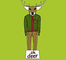 Oh Deer by edgaard