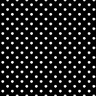 Polka Dots Black and White by Medusa81