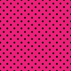 Polka Dots Pink and Black by Medusa81