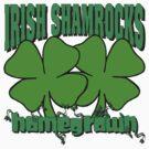 Irish Shamrocks by HolidayT-Shirts