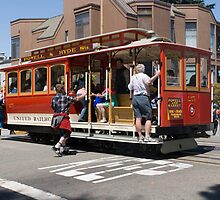 San Francisco Street Cars by Sarah Slapper