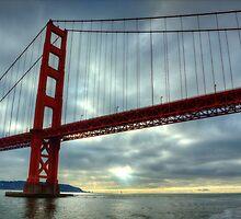 Golden Gate Bridge- San Francisco by Sarah Slapper