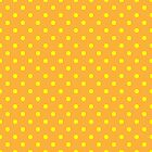 Polka Dots Yellow and Orange by Medusa81