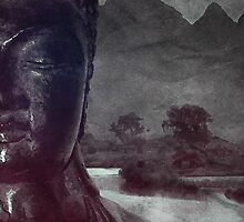 Buddha Poster/Print/Cards by Postduif