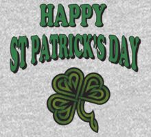Happy St. Patrick's Day Kids Clothes