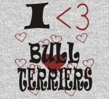 I <3 Bull Terriers by veganese
