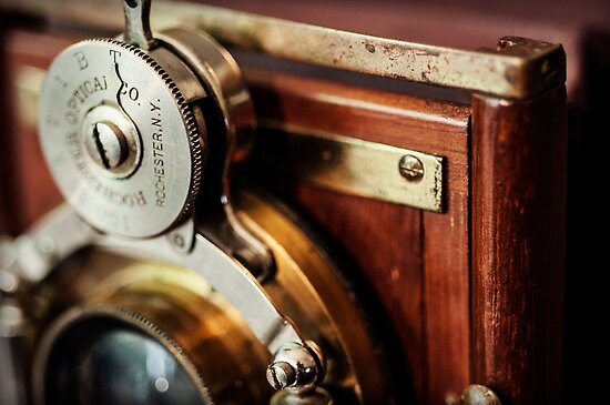 """Camera - Antique """"Premo A"""" from the late 19th Century (2) by Kaitlin Kelly"""