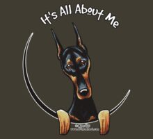 Doberman Pinscher :: Its All About Me by offleashart