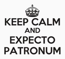 Keep Calm and Expecto Patronum by rolypolynicoley