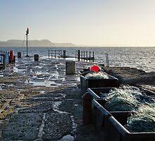 Along The Cobb ~ Lyme Regis by Susie Peek